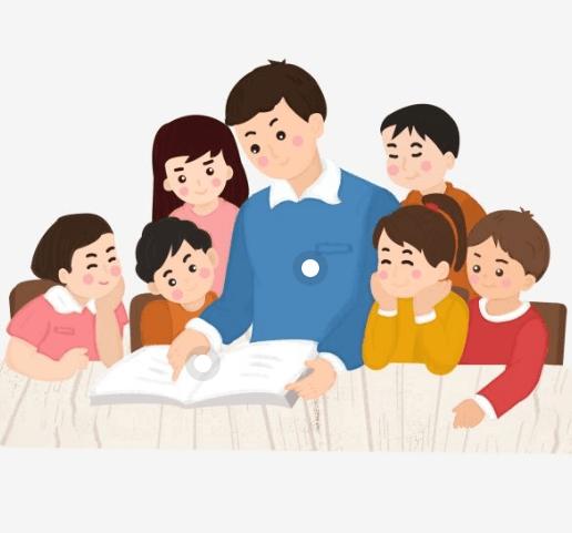vẽ tranh thầy giáo cùng học trò ôn bài