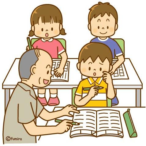 vẽ tranh thầy giáo dạy học