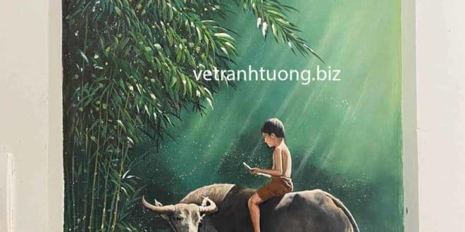 Vẽ tranh tường Bắc Giang Họa sĩ thi công đẹp rẻ cam kết chất lượng - Vẽ tranh tường Hà Nội